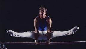 Los gimnastas dominan diferentes habilidades basados en su nivel de habilidad general.