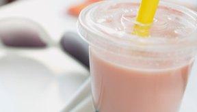Las bolas de tapioca, encontradas en la bebida Boba, son ricas en carbohidratos.