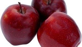 Comer manzanas puede ayudar a promover la salud de los pulmones.