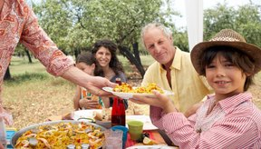 A las avispas de chaqueta amarilla les atraen las áreas de picnic que contienen carne, frutas y bebidas dulces.