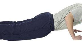 Es muy importante realizar las flexiones de brazo correctamente para evitar lesiones.