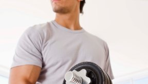 Las pesas más grandes pueden ayudarte a construir tamaño y fuerza rápidamente.