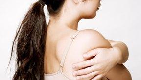 Usar un sostén de algodón puede aliviar el escozor en los senos.