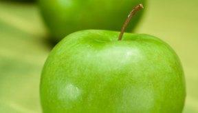 Ls manzanas contienen solo pequeñas cantidades de hierro, pero ayuda en su absorción.
