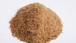 Las semillas de linaza son un suplemento común.