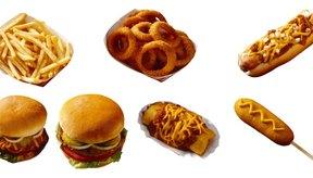 Muchas comidas rápidas se cocinan en grasas trans.