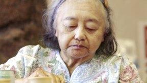 La gente pierde sus sentidos del gusto y el olor a medida que envejecen.