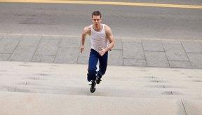 Correr por escaleras es una forma efectiva de construir tu potencia de correr y resistencia.