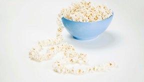 Las palomitas de maíz contienen una buena cantidad de fibra.