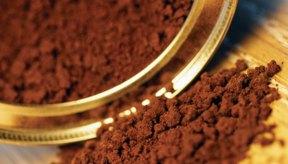 El café instantáneo puede almacenarse por largos periodos de tiempo.
