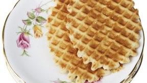 Los waffles no tienen por qué ser cocinados en un tostador.