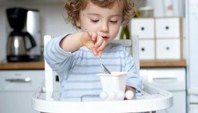 El yogur contiene ácido láctico.