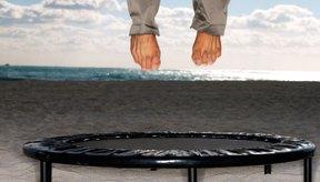 Pierde peso y diviértete saltando en un trampolín.