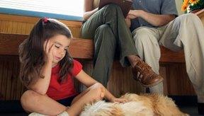 A menudo los perros con parvovirus sufren deshidratación.