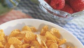 Pierde peso consumiendo hojuelas de maíz en el almuerzo.