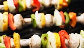 Asar a la parrilla es una manera de preparar vegetales muy baja en calorías.