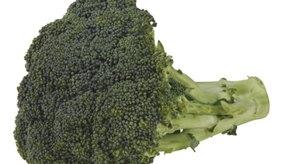 Cocina brócoli congelado en la cocina o en el horno.