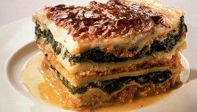 La ricota agrega un gusto cremoso a la pasta y la lasaña.
