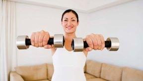Levantar pesas pesadas puede disparar la fatiga y el temblequeo del músculo.