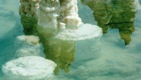 El Mar Muerto es rico en sales de magnesio hidratadas.