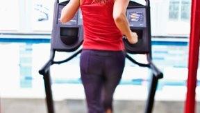 Correr en una trotadora quema un número significante de calorías.