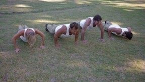 Un hombre de 40 años debe ser capaz de hacer 27 flexiones de brazos.