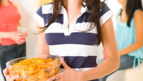 Las patatas fritas saludables son cocinadas con aceites bajos en grasas.