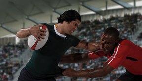 Se pueden usar juegos divertidos para enseñar conceptos de rugby.