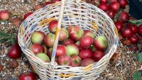 Las manzanas Pink Lady tienen un patrón de color distinto.
