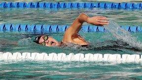 Nadar en una piscina hace que el cálculo de tus tiempos sea más fácil.