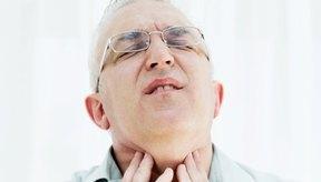 Una garganta seca puede hacer que deglutir sea doloroso.