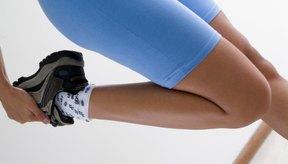 Reafirmar tus piernas te da más seguridad.