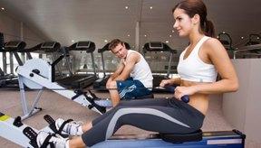 La remadora te proporciona un ejercicio para todo el cuerpo.