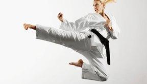 Karate es una forma popular de artes marciales en los Estados Unidos.