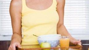 Un desayuno saludable te brinda la energía que necesitas para entrenar.