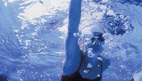 Las vueltas de nado son un buen ejercicio cardiovascular.