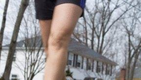 El ejercicio cardiovascular ayuda a tener rodillas delgadas.