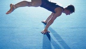 Los gimnastas utilizan sus abductores para mantener las piernas abiertas.