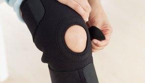 El uso de una rodillera al correr puede reducir la inestabilidad articular y el dolor.