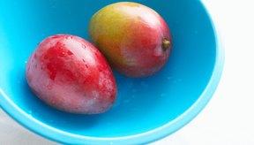 El mango deshidratado contiene más azúcar que el fresco.