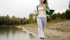 El correr te permite estar al aire libre.