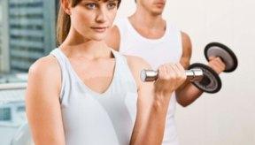 Levantar pesas en tu hogar puede ayudarte a ganar peso.