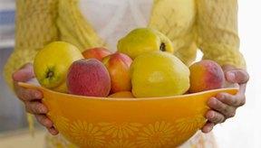 Las frutas frescas no contienen gluten.