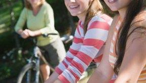 Monta tu bici para ir a la escuela para deshacerse del exceso de peso.