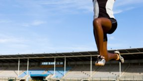 El salto de longitud fue un evento pentatlón en los Juegos Olímpicos antiguos.