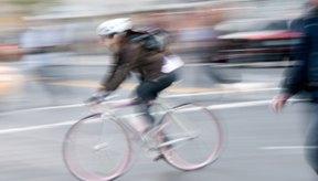 La bursa de la cadera puede irritarse por la acción repetitiva del ciclismo.