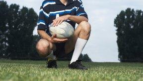 Los botines para rugby ofrecen mejor soporte para el tobillo.