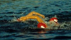 El triatlón sprint comienza 750 m  nadando seguido de bicicleta y la etapa de correr.