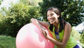 Aprende a desinflar tu pelota de ejercicios.