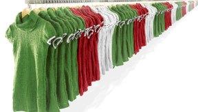 La ropa tiene texturas naturales que son opciones populares para la gente de todas las edades.
